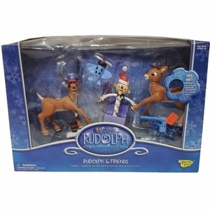Rudolph and THe Island of Misfit Toys Rudolph and Friends SEALED NIB